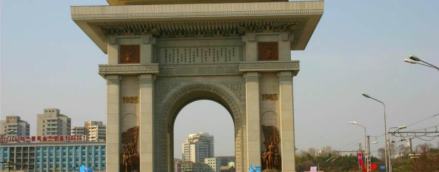 Corea del Nord da scoprire - North Korea Pyongyang - Arc of Triumph
