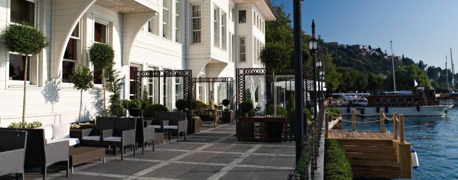 Hotel Les Ottomans - Terrace