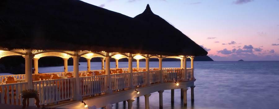 Praslin à la carte - Seychelles, Praslin La Réserve, Dining Area