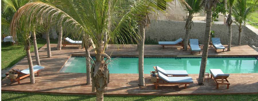 Ibo Island Lodge - Pool area