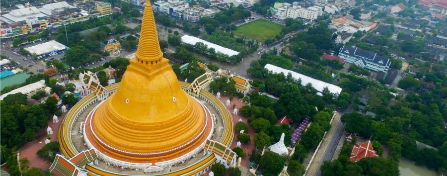 Alla scoperta della Thailandia - Thailand Phra Pathom Chedi © THANAN KONGDOUNG/Shutterstock