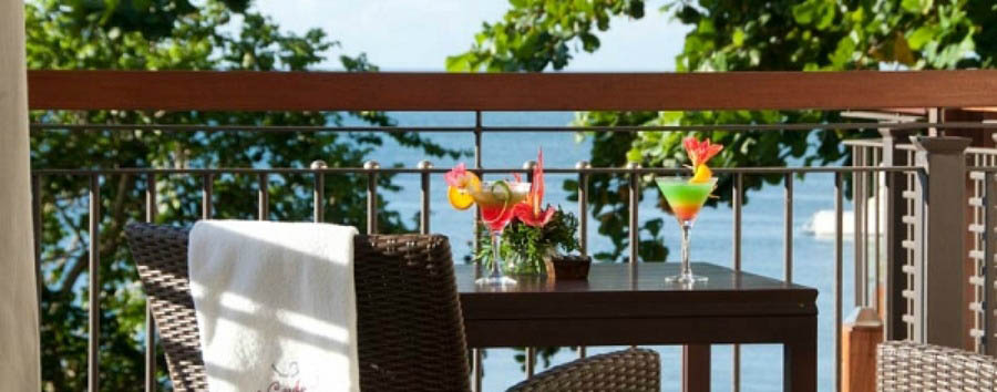 Mauritius - Le Cardinal Exclusive Resort, Beautiful View from the Balcony