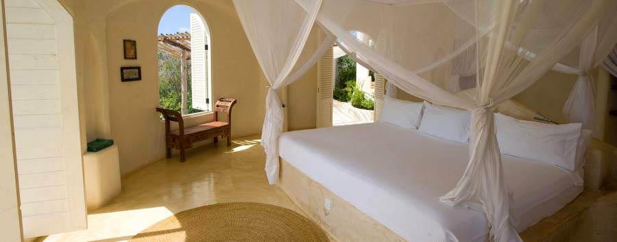 Zanzibar, Kilindi boutique hotel - Zanzibar Kilindi Pavilion room interior