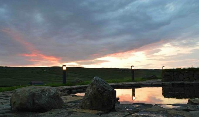 Eastern Iceland Landscape at Sunset - Iceland