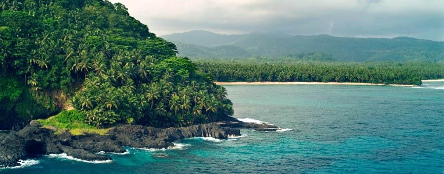 Roças de São Tomé - São Tomé Beautiful Panorama