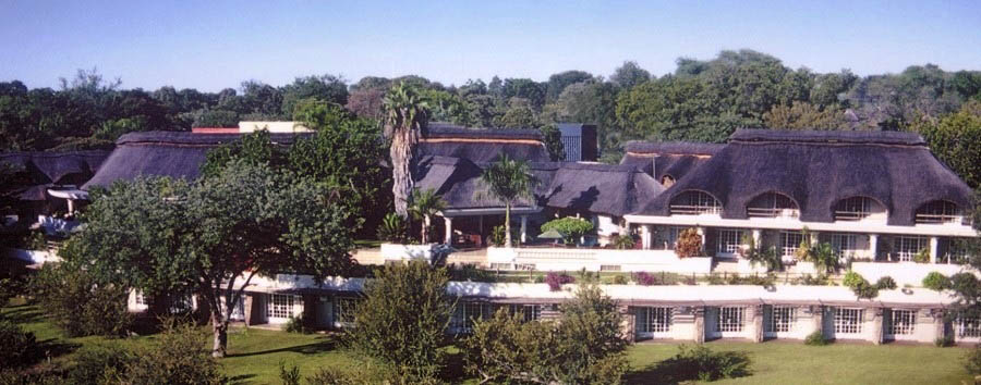 Zimbabwe - Ilala Lodge, exterior view