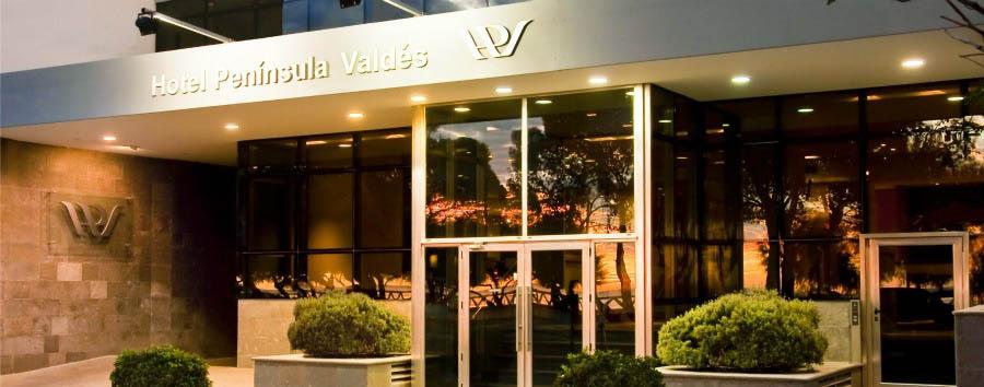 Hotel Peninsula Valdes - Hotel Entrance