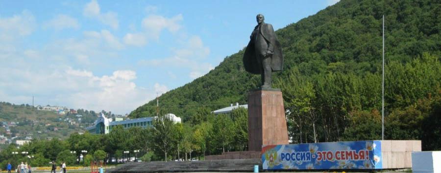 Kamchatka: acqua e fuoco - Kamchatka Lenin Monument in Petropavlovsk