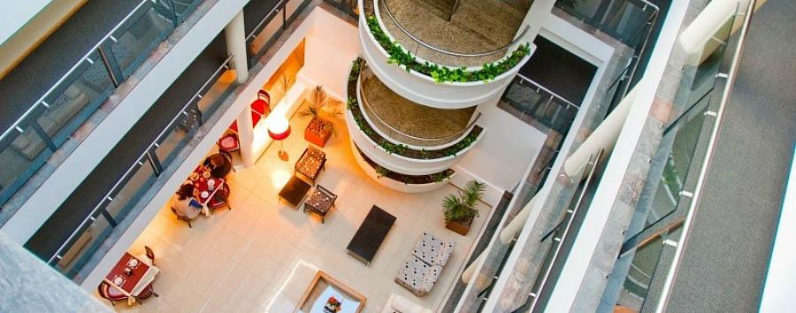 Hotel Villa Piren - Hotel Interior Aerial View