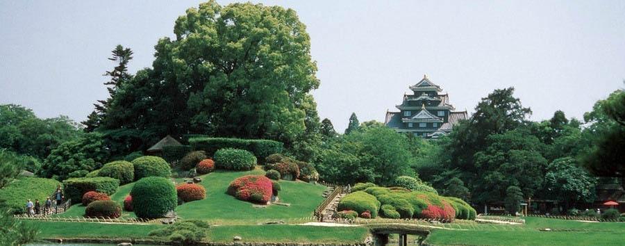 Miyajima e Hiroshima - Japan Okayama, Korakuen Garden