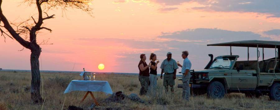 Onguma The Fort - Sunset gamedrive