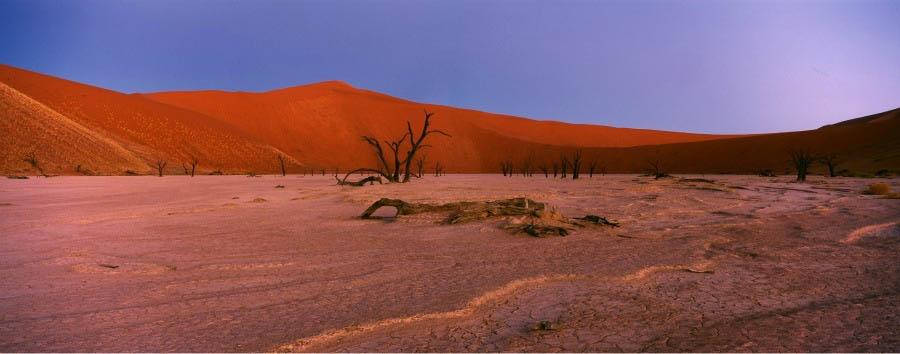 Namibia, stars and dunes - Namibia Sossusvlei Landscape