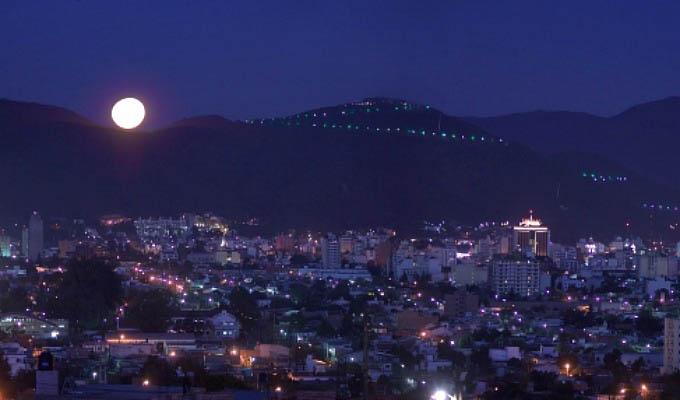 Salta, Aerial View by Night © Eliseu Miciu - Argentina