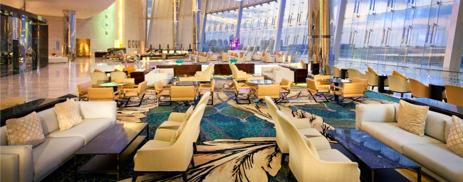Jumeirah at Etihad Towers - Lobby Interior