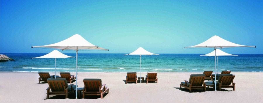 Wonders of Arabia - Oman Shangri La's Barr Al Jissah - Resort Main Beach
