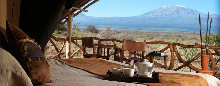 Satao Elerai - View from your tent