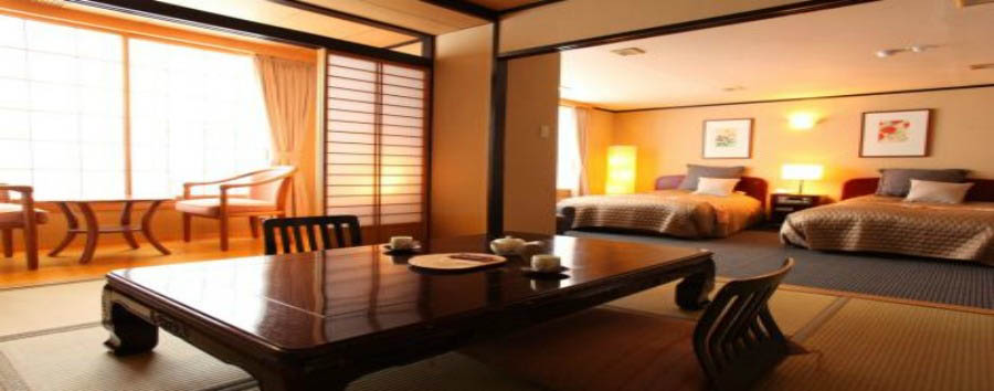 Ryokan Biyu Yado - Room sample
