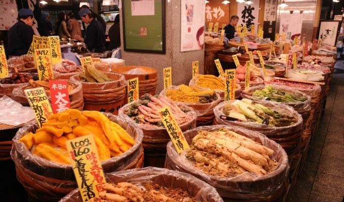 Kyoto, Nishiki Market - Japan
