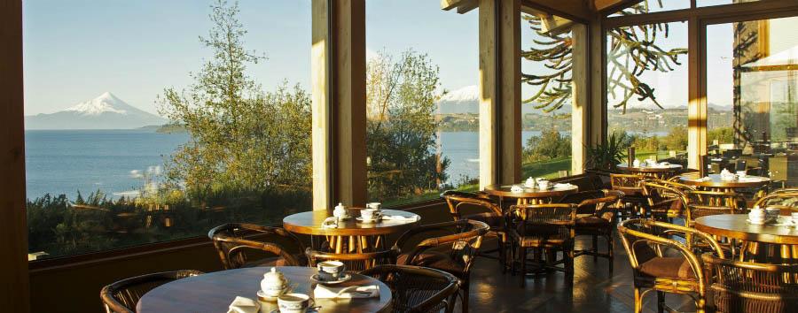 Hotel Cumbres Patagonicas - Cumbres del lago, winter garden