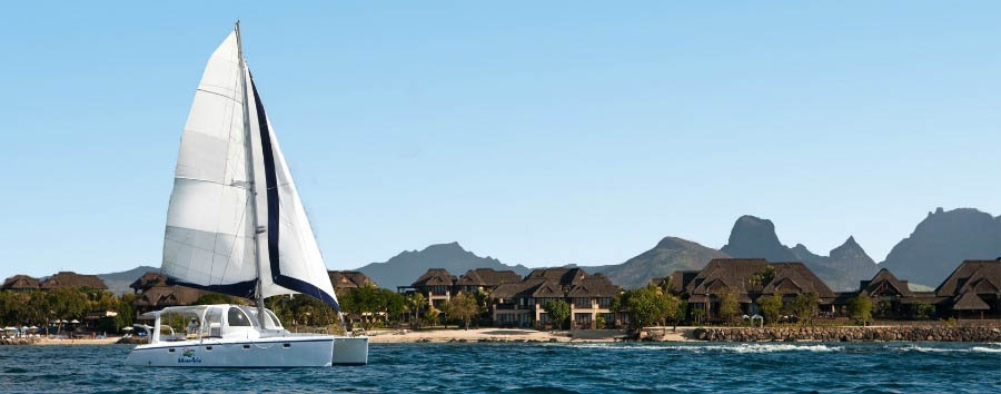 Westin+Turtle+Bay+Resort+%26+Spa+-+Exterior+with+Catamaran