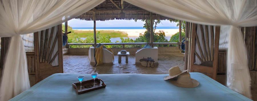 Ras Kutani - Cottage view