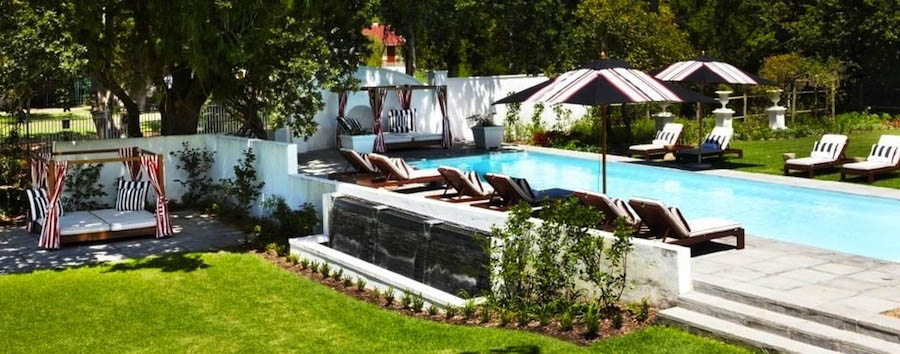 The Alphen Boutique Hotel - Relax by the pool