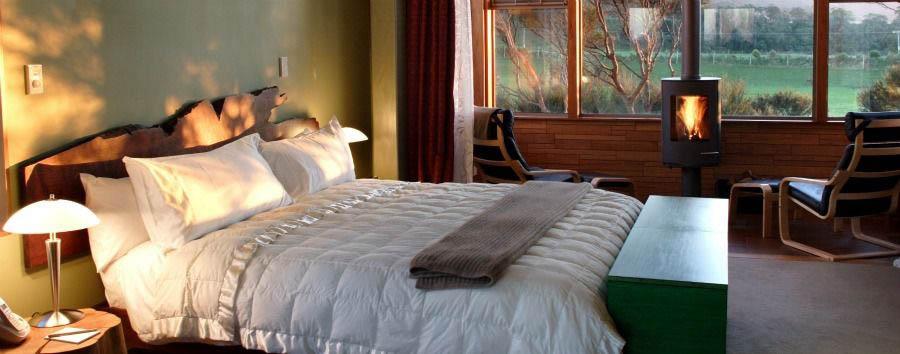 Luna di miele a Kaikoura - New Zealand Hapuku Lodge & Tree Houses, Tree House Bedroom