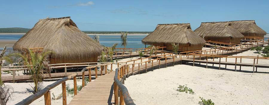Nyati Beach Lodge - Lodge view