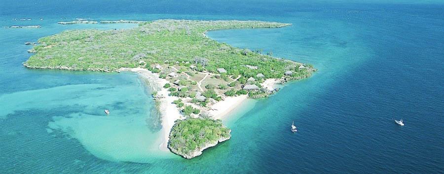 Quilalea, Star of Mozambique - Mozambique Quilalea Private Island Aerial View