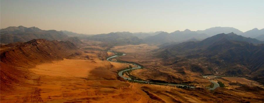 Deserto, fiumi e cascate - Namibia Marienfluss Valley, Panorama