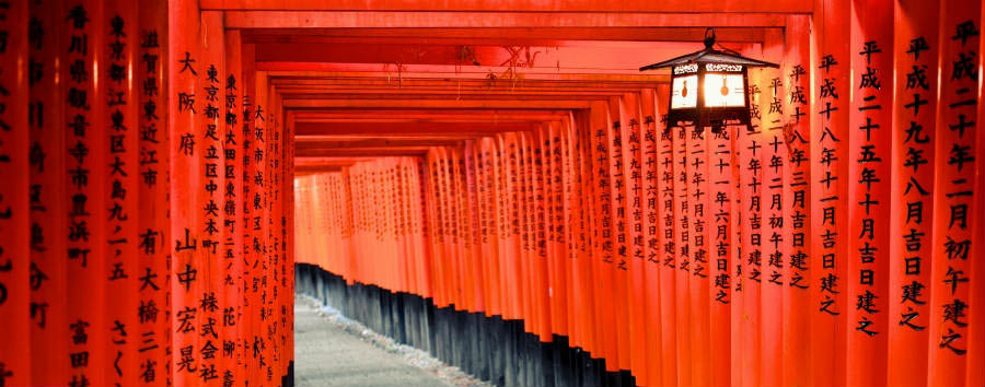 Gran Tour del Giappone - Japan Kyoto - Fushimi Inari-taisha shrine
