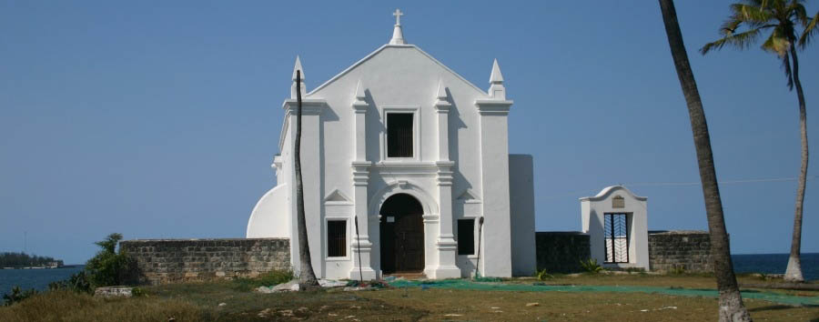 Mozambique - Ilha de Moçambique, Santo António Church