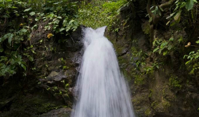Waterfall Inside The Lapa Rios Private Reserve - Costa Rica