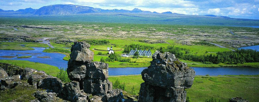 Viaggio al centro del ghiacciaio - Iceland Thingvellir National Park, Landscape - Courtesy of Iceland Travel
