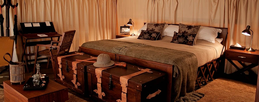 Serengeti Pioneer Camp - Luxury tent interior
