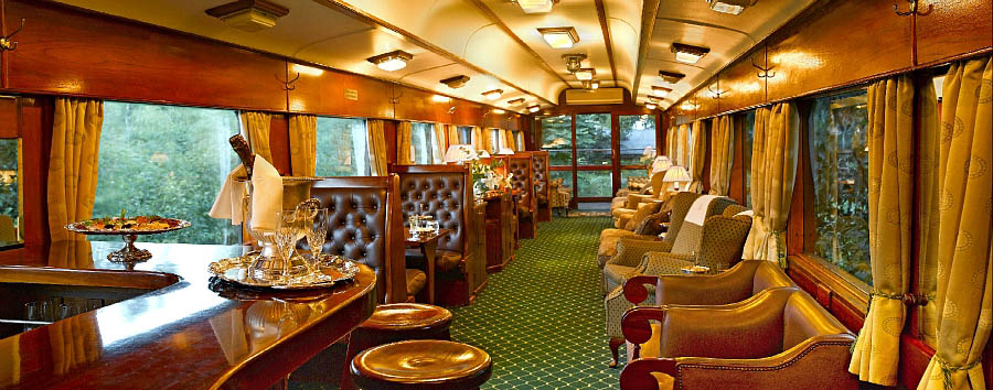 South Africa - Rovos Rail panoramic observation car