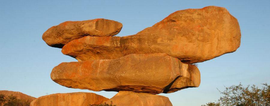 Zimbabwe: una volta nella vita - Zimbabwe Matobo Hills National Park, Balancing Rocks