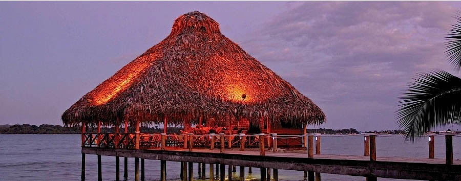Playa+Tortuga+Beach+Resort+-+Wooden+Deck+at+Evening