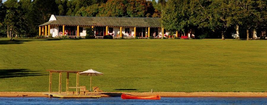 Incanto argentino - Argentina Puerto Valle Hotel de Esteros, View from Rio Paraná