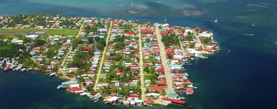 North of The Canal - Panama Bocas del Toro, Colon, Aerial View