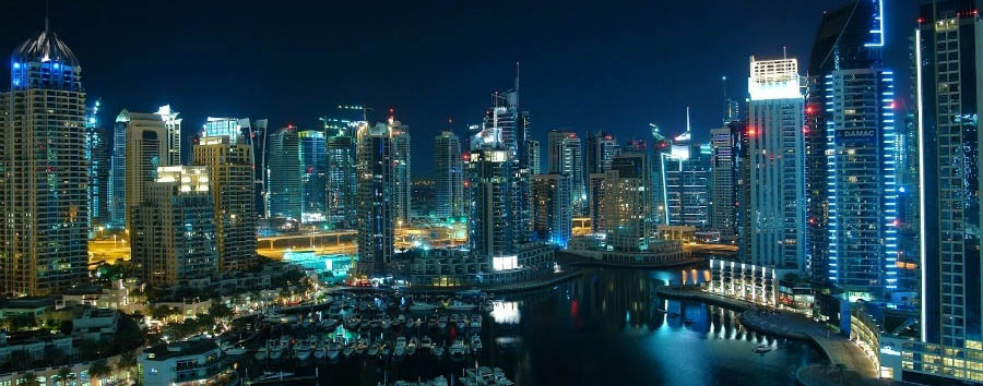 Dubai - City View by Night