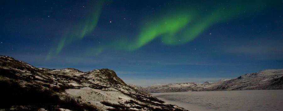 Aurora & Polar Circle - Arctic, Greenland Kangerlussuaq, Northern Lights © Per Arnesen/VisitGreenland A/S