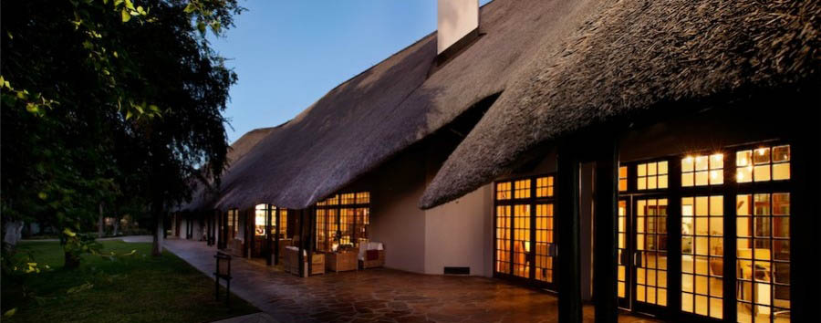Mokuti Etosha Lodge - Main Building View