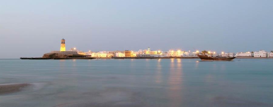 Easy Oman - Oman Sur, View In The Evening © Khalil Al Zadjali