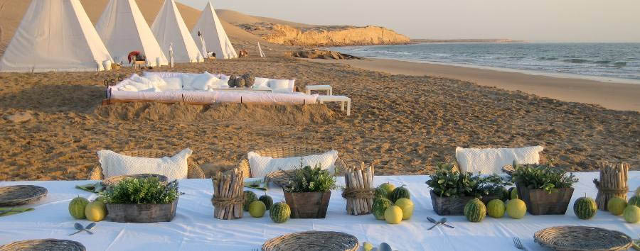 Oman+-+Luxury+tented+camp+by+the+sea