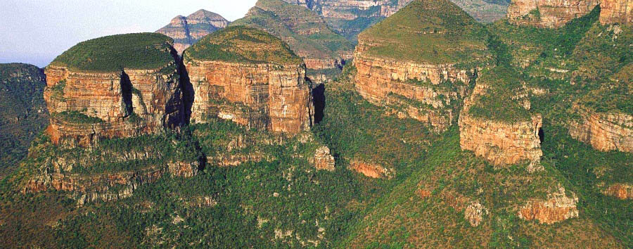 South Africa - Mpumalanga, The Three Rondavels