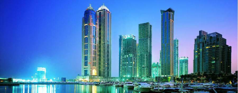 Dubai, la città del futuro - Dubai Skyline