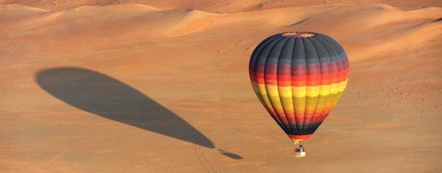 Exclusive Abu Dhabi - Abu Dhabi Flying above the desert