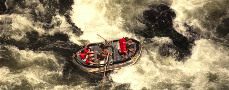 Experience VicFalls - Zambia Rafting on The Zambezi River