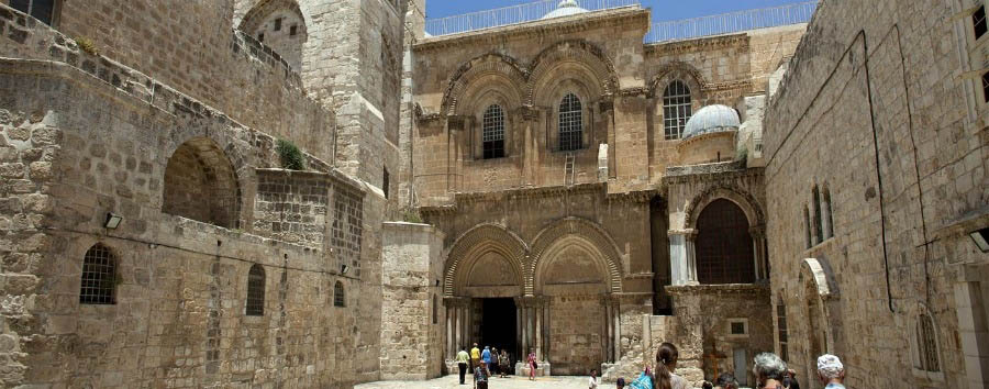 Israel, Jerusalem - Church of the Holy Sepulcher